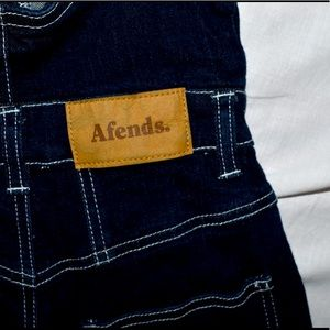 Afends denim overalls